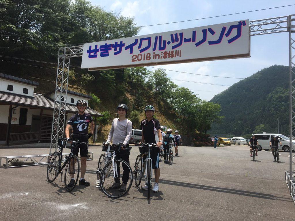 せきサイクル・ツーリング 2016 in 津保川