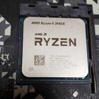 CPUを取り付けた写真