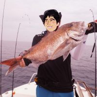 TERAが釣った鯛の写真