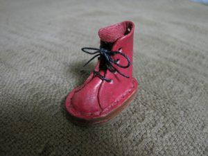 革靴の完成写真